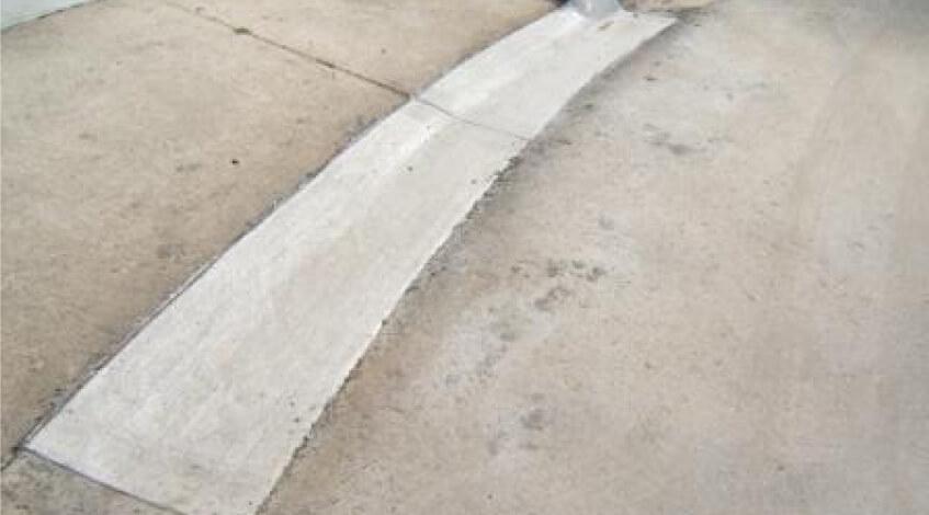 Concrete gutter Danville VA
