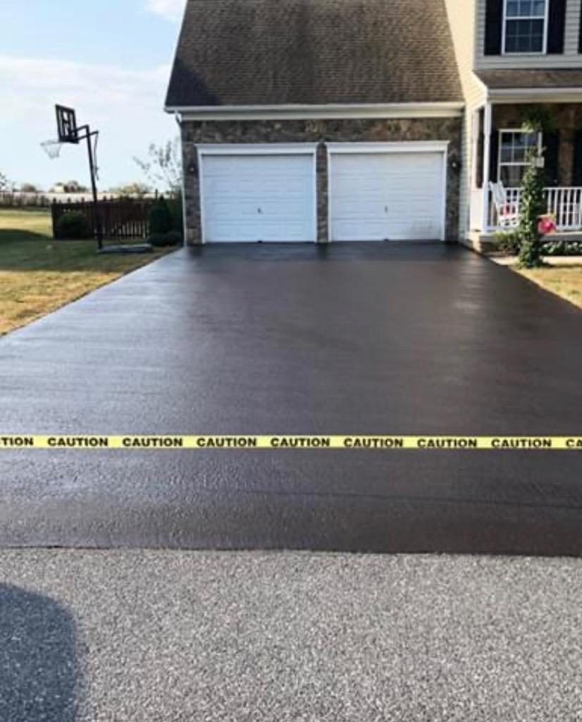 driveway asphalt sealcoating danville va