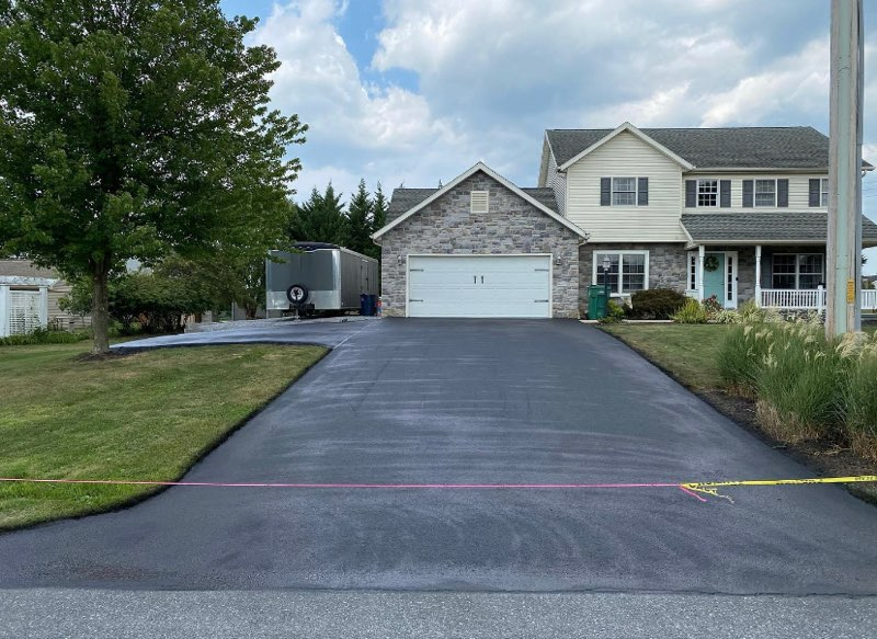 residential driveway paving danville va
